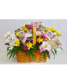 Love you basket Custom product