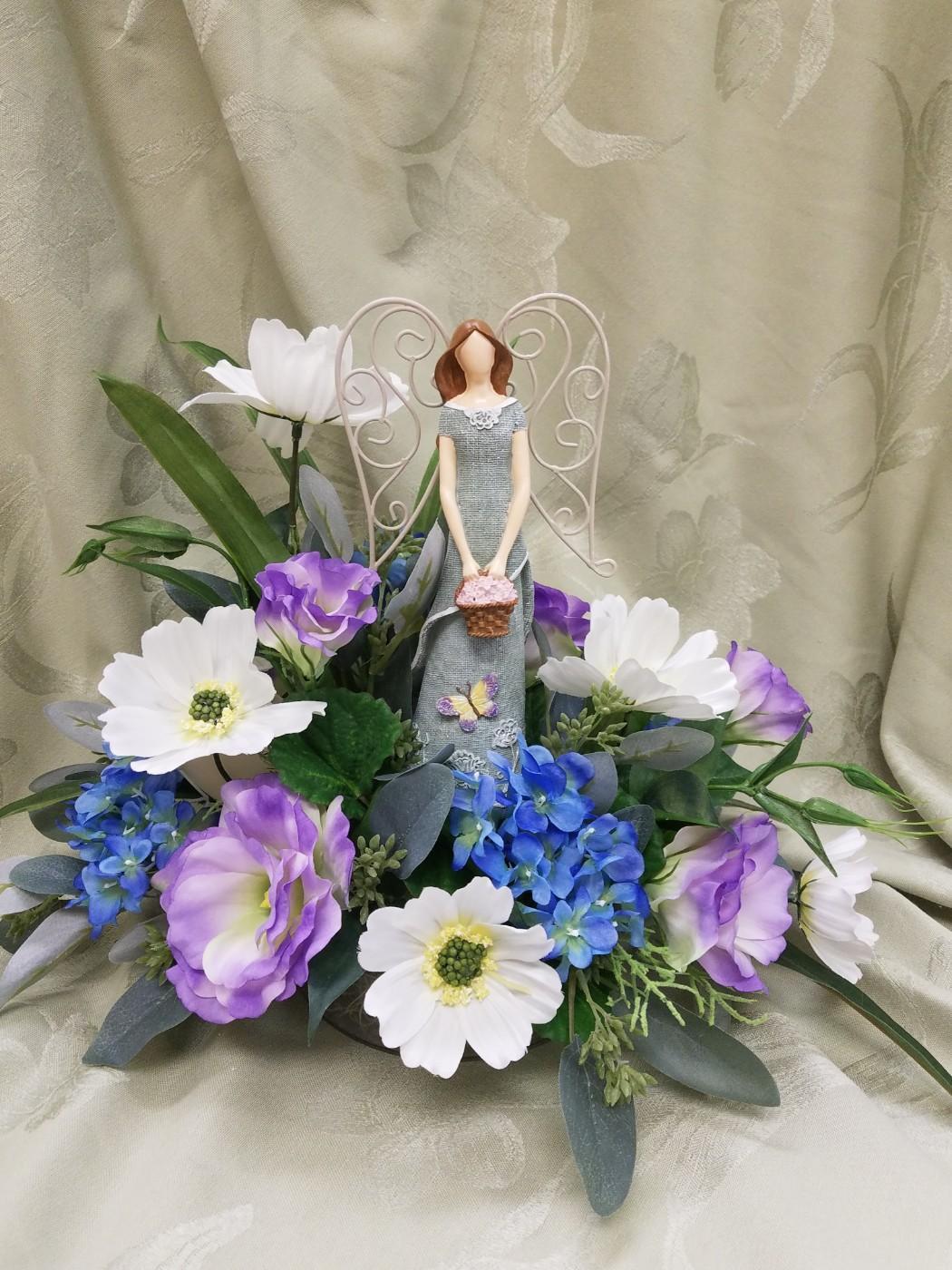 Angels and religious statues delivery warren mi downings flowers joyful angel izmirmasajfo