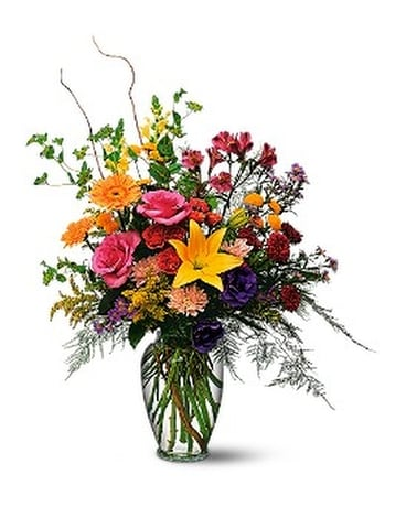 Every Day Counts by Petals & Stems (TF3-1) Flower Arrangement