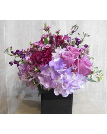Purplerific(P&S041874) Flower Arrangement