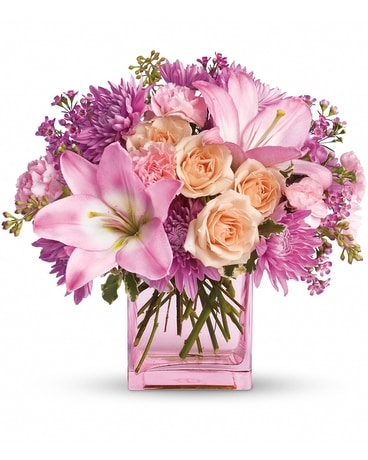 Possibly Pink (T145-1) Flower Arrangement