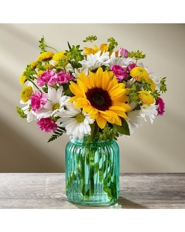 Sunlit Meadows Flower Arrangement