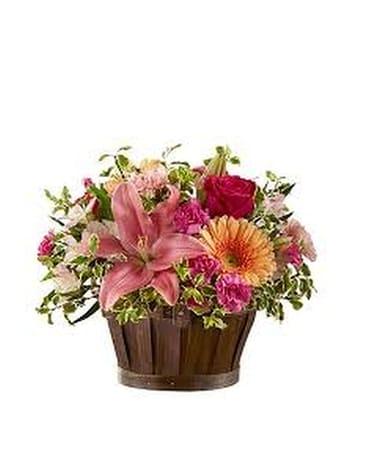 Altamonte springs florist flower delivery by altamonte springs florist spring garden basket flower arrangement mightylinksfo
