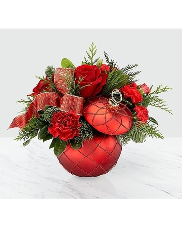 Christmas Magic Bouquet Flower Arrangement