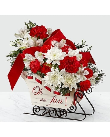 Holiday Traditions Bouquet Flower Arrangement