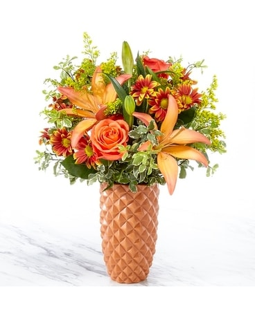 FTD WARM AMBER BOUQUET Flower Arrangement