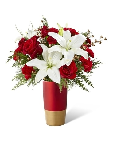 FTD Holiday Celebration Flower Arrangement