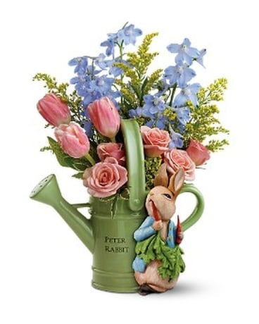 Teleflora's Peter Rabbit™ Bouquet Flower Arrangement
