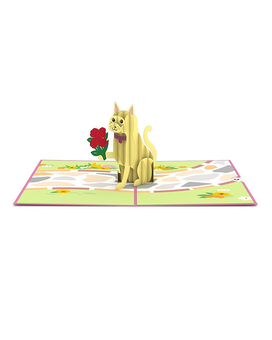 Love Cat 3D card Gifts