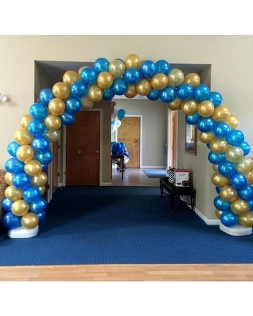 Spiral Balloon Arch Custom product