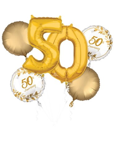 50th Anniversary Balloons Custom product