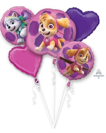Paw Patrol Pink Bouquet Custom product
