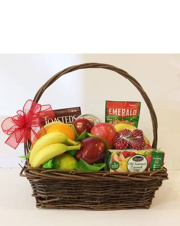 Deluxe Fruit and Gourmet Basket Gift Basket