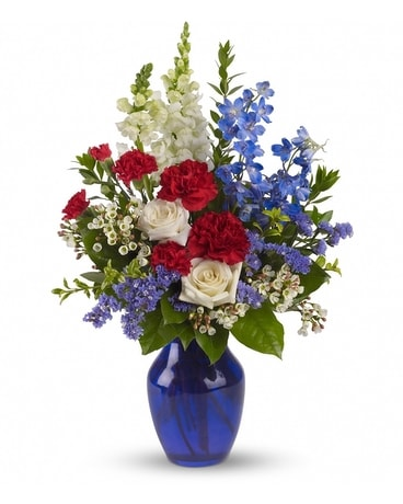 Sea to Shining Sea Bouquet Flower Arrangement