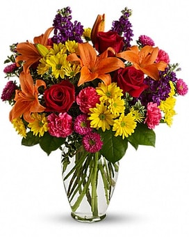 Bright Eyes Flower Arrangement