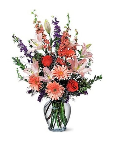 Sweet Sentiments Flower Arrangement
