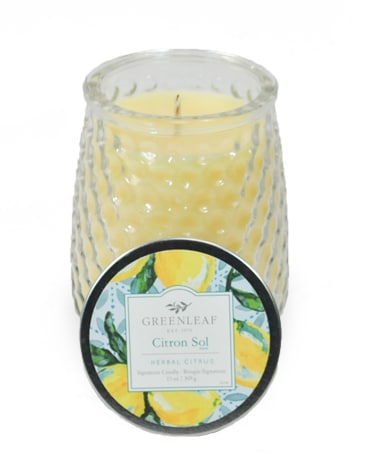 Greenleaf Candle - Citron Sol