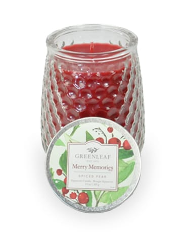 Greenleaf Candle - Merry Memories