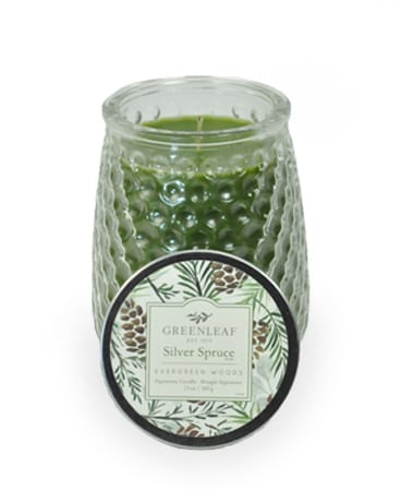 Greenleaf Candle - Silver Spruce