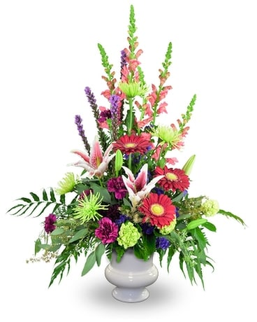 Tender Tribute Flower Arrangement