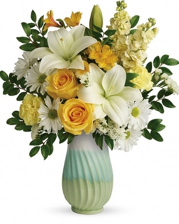 Telelfora's Art of Spring Flower Arrangement