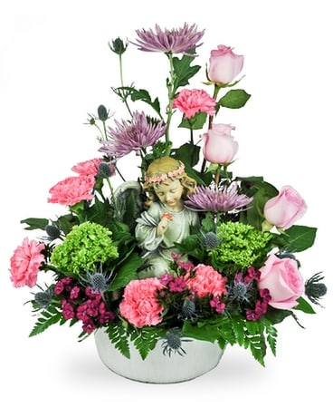Sweetest Angel Flower Arrangement