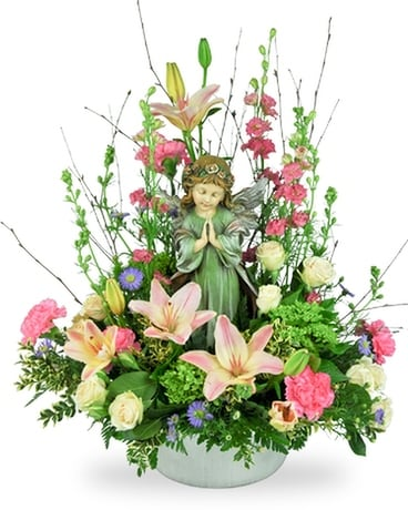 Graceful Angel Flower Arrangement