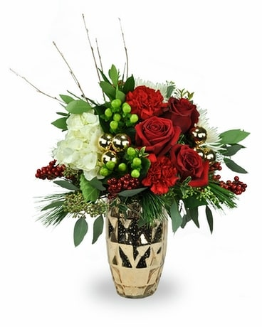 Royal Christmas Flower Arrangement