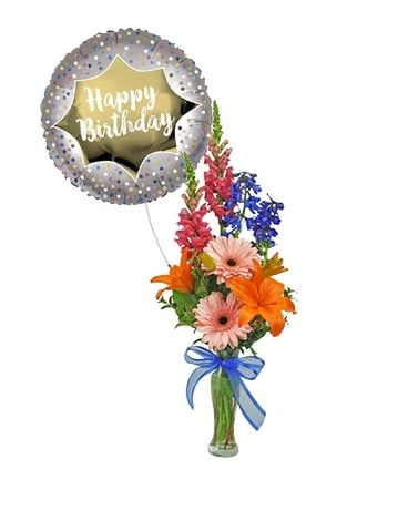 Birthday Packages Flower Arrangement