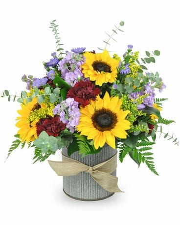 Country Dreamin' Flower Arrangement