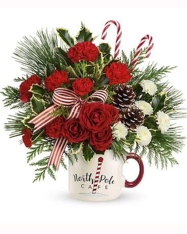 Teleflora's North Pole Cafe Mug
