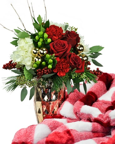 Christmas Minky & Flowers Package