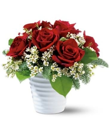 Ravishing Roses Flower Arrangement