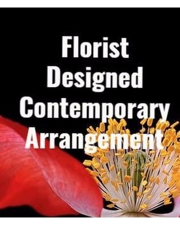 Florist Designed Contemporary Arrangement Flower Arrangement