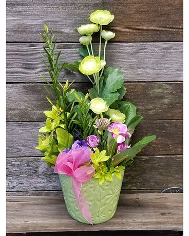 Think Spring Flower Arrangement