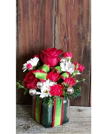 GIFT WRAPPED Flower Arrangement