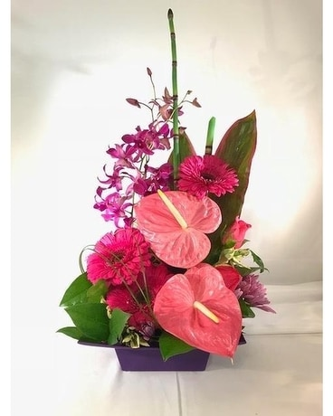 Aloha Love Flower Arrangement