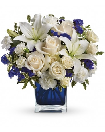 Teleflora's Sapphire Skies Bouquet Flower Arrangement
