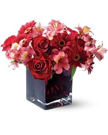Teleflora's Wild Berry Flower Arrangement