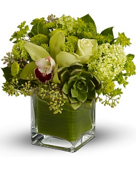 Teleflora's Rainforest Bouquet Flower Arrangement