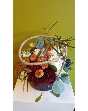 in the round Flower Arrangement