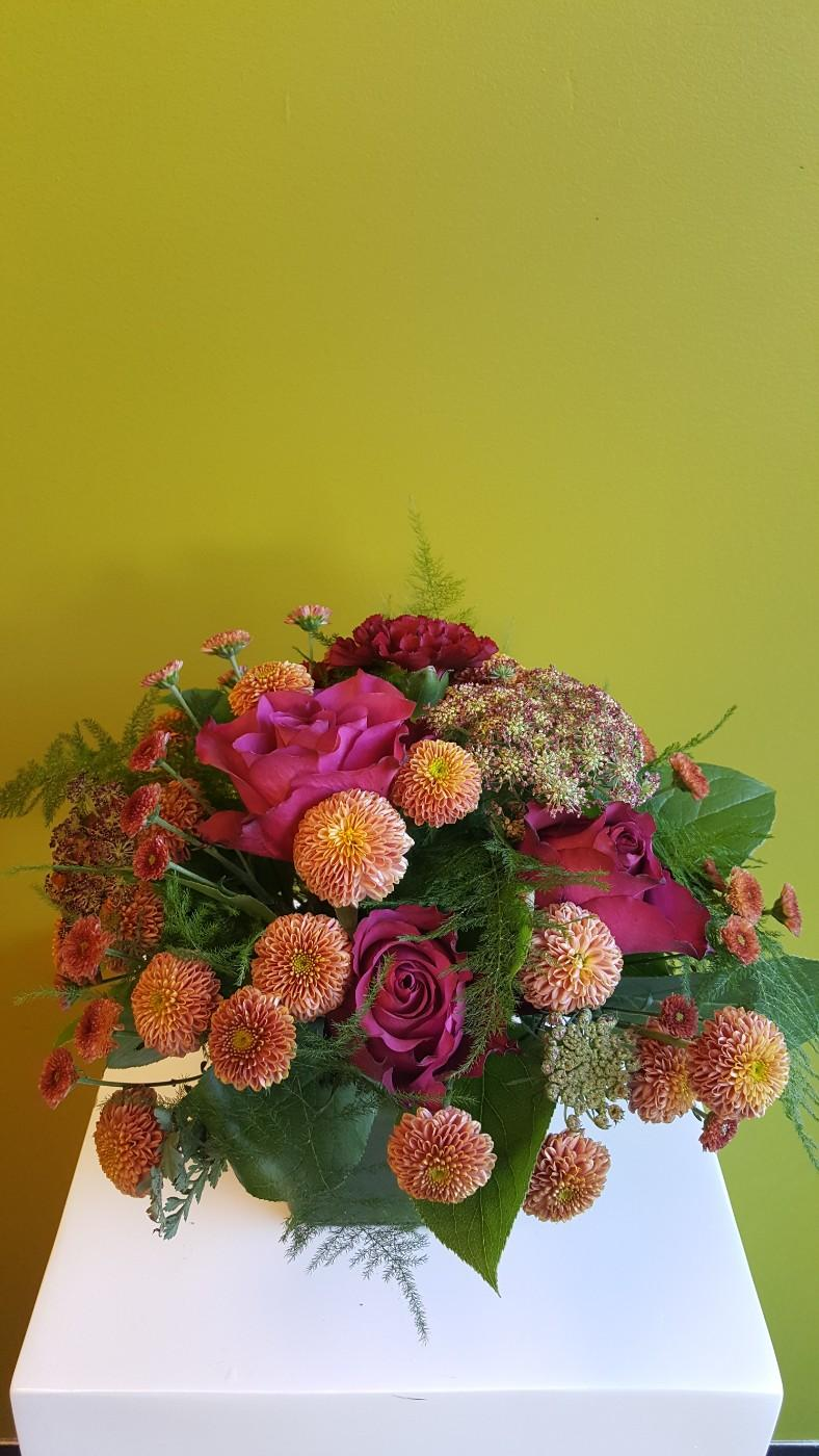 moody Autumn Mood Flower Arrangement