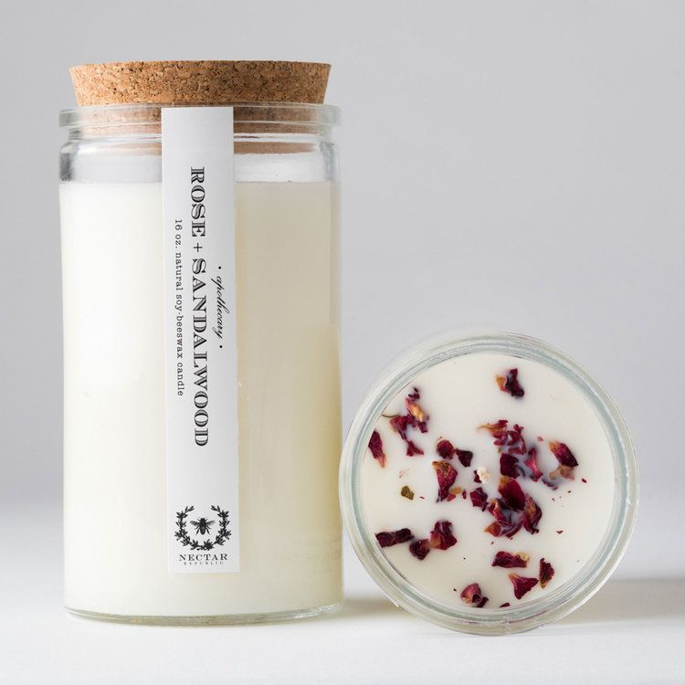 Nectar Republic Apothecary Candle- 16 Ounce