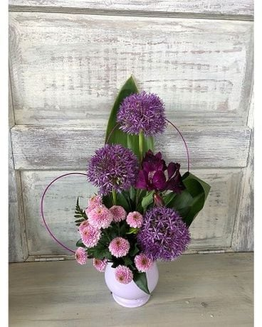 Purple Vibes Flower Arrangement