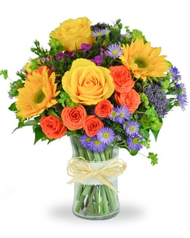 Summer Smiles Flower Arrangement