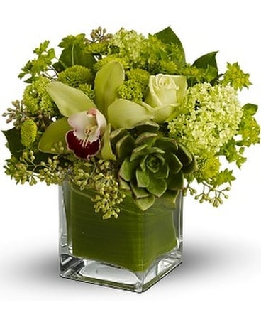 Rainforest Bq Flower Arrangement