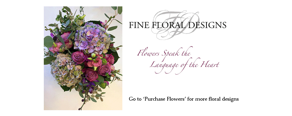 Flower Delivery to Victoria by Fine Floral Designs