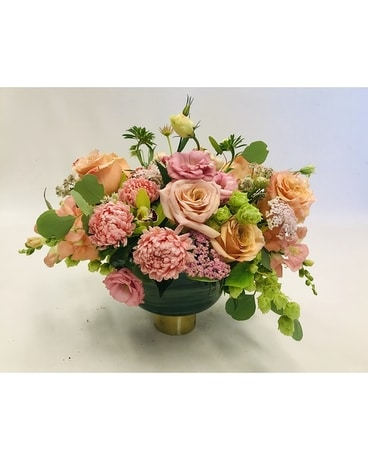 Peach Galore Flower Arrangement