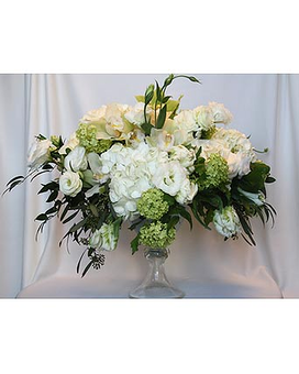 Just White 9 Flower Arrangement