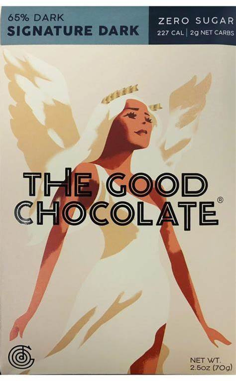 THE GOOD CHOCOLATE - Keto Friendly + Zero Sugar